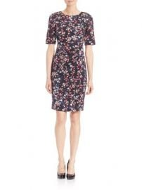 L K  Bennett - Polena Floral-Print Sheath Dress at Saks Fifth Avenue