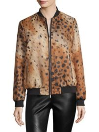 LAFAYETTE 148 NEW YORK - MELROSE ANIMAL PRINT JACKET at Saks Fifth Avenue