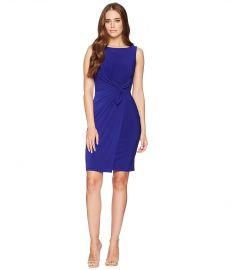 LAUREN Ralph Lauren 1T Matte Jersey Laila Sleeveless Day Dress at Zappos