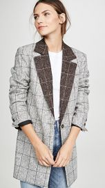 LAVEER Colorblock Oversized Man Blazer at Shopbop