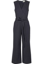LAgence Pinstriped Jumpsuit at Net A Porter