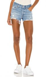 LEVI S 501 Short in Luxor Light Destructed from Revolve com at Revolve
