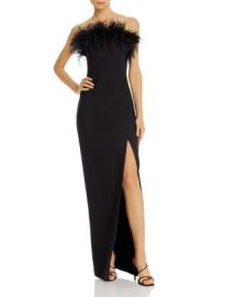 LIKELY Desi Feather-Embellished Strapless Gown Women - Bloomingdale s at Bloomingdales