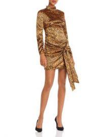 LIKELY Khaleesi Tie-Detail Animal-Print Dress Women - Bloomingdale s at Bloomingdales
