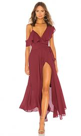 LIKELY Leilani Gown in Zinfandel from Revolve com at Revolve