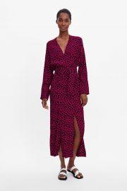 LIMITED EDITION POLKA DOT DRESS at Zara