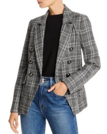 LINI Evelyn Double-Breasted Plaid Blazer - 100  Exclusive  Women - Bloomingdale s at Bloomingdales