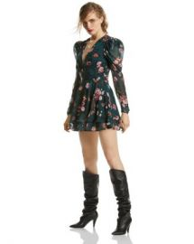 LINI Isabelle Puff-Sleeve Floral Dress - 100  Exclusive  Women - Bloomingdale s at Bloomingdales