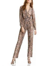 LINI Stella Snake Print Jumpsuit - 100  Exclusive  Women - Bloomingdale s at Bloomingdales