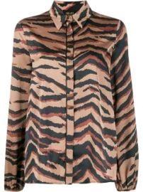 LIU JO Tiger Print Shirt - Farfetch at Farfetch