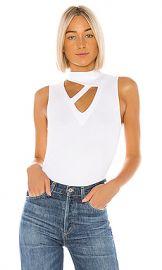 LNA Thea Rib Top in White from Revolve com at Revolve