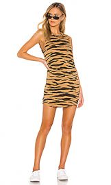 LNA Tiger Muscle Tank Dress in Tiger from Revolve com at Revolve