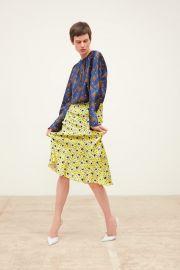 LONG FLORAL PRINT SKIRT at Zara