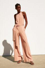 LONG RUSTIC JUMPSUIT at Zara