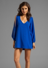 LOVERS and FRIENDS Gracie Dress in Surf The Web at Revolve