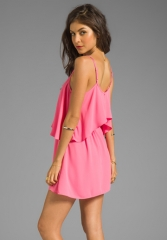 LOVERS and FRIENDS Sunkissed Dress in Pink - Lovers and Friends at Revolve