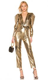 LPA Aurelia Jumpsuit in Gold from Revolve com at Revolve