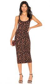 LPA Emelie Dress in Leopard from Revolve com at Revolve