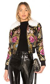 LPA Jacket 618 in Black Floral from Revolve com at Revolve
