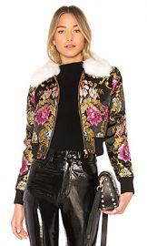 LPA Jacket 618 in Black Floral from Revolve com at Revolve