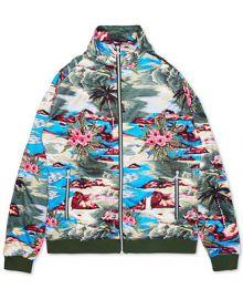 LRG Men s Hiloha Tropical Pattern Track Jacket   Reviews - Coats   Jackets - Men - Macy s at Macys
