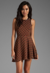 LUCCA COUTURE Tank Dress in Spice at Revolve