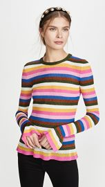 La Double J Flute Knit Top at Shopbop