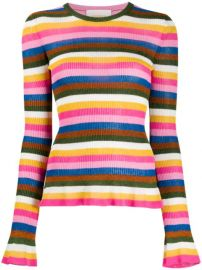 La Doublej Striped Jumper - Farfetch at Farfetch