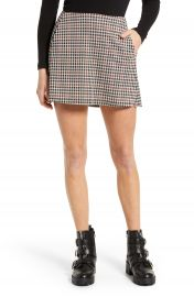 La La Land Creative Co Plaid Miniskirt   Nordstrom at Nordstrom