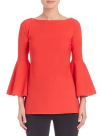 La Petite Robe di Chiara Boni - Bell Sleeve Top at Saks Fifth Avenue