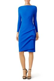 La Petite Robe di Chiara Boni Navy Cassandre Sheath Dress at Rent The Runway