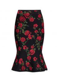 La Rosa Flared Pencil Skirt by Bcbgmaxazria at Amazon