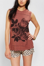 La Rosa Tee by Truly Madly Deeply at Urban Outfitters
