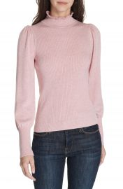 La Vie Rebecca Taylor Cozy Wool  amp  Cotton Sweater at Nordstrom