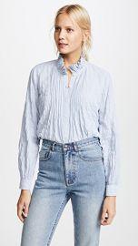 La Vie Rebecca Taylor Long Sleeve Soft Stripe Top at Shopbop