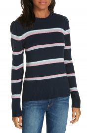 La Vie Rebecca Taylor Stripe Wool Blend Sweater   Nordstrom at Nordstrom
