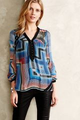 Labyrinth Peasant Blouse at Anthropologie