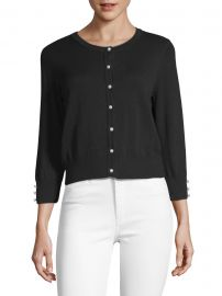 Lace Button-Front Cardigan at Saks Off 5th