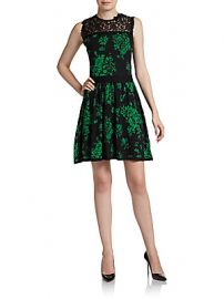Lace Dress by RED Valentino at Saks Off 5th