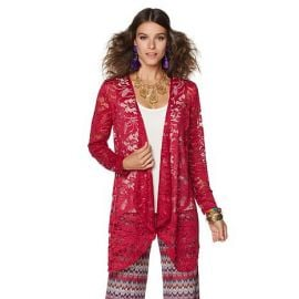Lace Duster at HSN