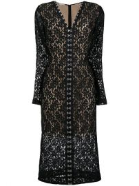 Lace Fitted Midi Dress  Stella McCartney at Farfetch