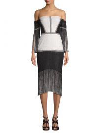 Lace Fringe Dress at Gilt