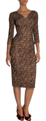 Lace Leaves Dress by LWren Scott at Barneys