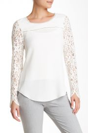 Lace Mix Blouse at Nordstrom Rack