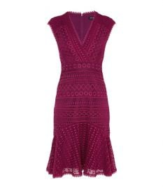 Lace Peplum Dress Karen Millen at Karen Millen