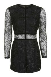 Lace Playsuit at Topshop
