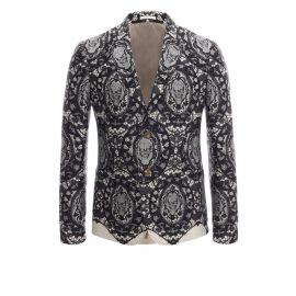 Lace Skull Jacket at Alexander McQueen