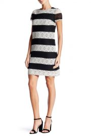 Lace Stripe Dress at Nordstrom Rack