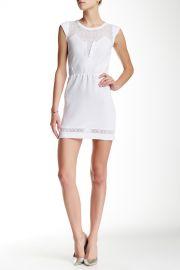 Lace Trim Cap Sleeve Dress at Nordstrom Rack