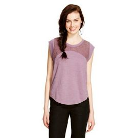 Lace Yoke T-shirt by Mossimo Supply Co at Target